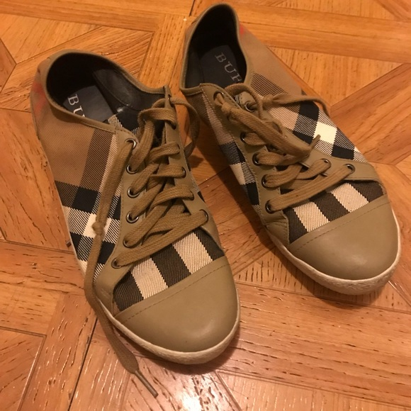 48c2273f65e Burberry Shoes - Authentic Burberry Sneakers